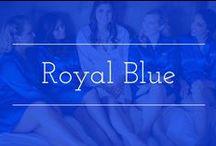 Royal Blue palette inspiration / Royal blue color palette wedding inspiration