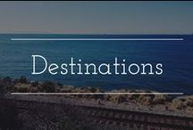Wedding and honeymoon destination ideas / Places to go for your wedding, on your honeymoon, or just for fun!