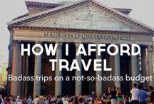 Wanderlust / Because all I want to do is travel!!