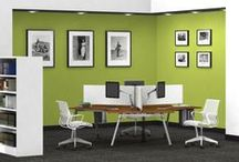 Office Inspiration // Green / GREEN // refreshing, calming, young, lush, bright, crisp, peaceful, natural, healthy.
