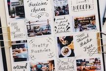 Photo Journal Ideas / Colection of photo journal images - Inspiration to make your own.