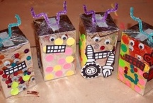 Robot Activities For Kids / ~ A theme board robot crafts, books, and activities ~