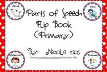 FREE Parts of Speech Printables & Activities