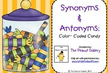 FREE Synonyms/Antonyms Printables