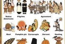 FREE Thanksgiving Printables {Educational}
