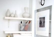 Small Spaces / Great looks and ideas for small rooms, apartments, homes and dorms.