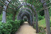 garden structures / by Amy Roberts Garden Design