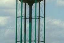 Water Towers   / by Kimberly Rodriguez