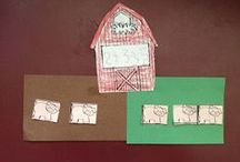 Farm Themed Activities & Printables For Kids / Farm printables, farm theme, farm activities, farm projects