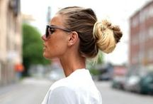 Soft & sexy / upstyles & relaxed styling inspiraton