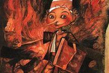 Książki dla dzieci - Buratino / Złoty kluczyk czyli Niezwykłe przygody pajacyka Buratino