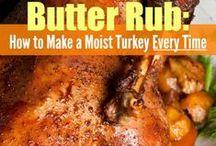 Turkey & Stuffing / Thanksgiving turkey recipes, breasts & the whole bird.