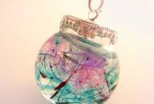 Resin Jewelry - DIY/Ideas / Tutoriales e ideas de complentos realizados con resina