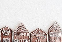 Gingerbread Houses / Inspiration for all things gingerbread