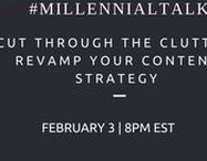 #MillennialTalk Twitter Chat / Where Tweeps from our  #MillennialTalk Twitter Chat come together and share Millennial content and daily greetings. Also, will be posting info on our weekly chat here!