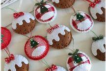 Christmas Craft&Inspiration / Tutorial and cute craft. Christmas ornament