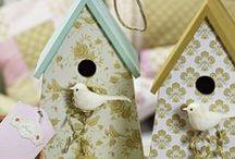 Birdcase & Birdhouses - DIY/Ideas / Birdhouses and Birdcase cute