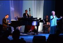 """The Songbook Cabaret Series / Come to the cabaret! Sparkling music, vibrant artists, sophisticated lyrics - bringing Rainbow Room quality performers to an intimate, upscale and """"de-lovely"""" soiree."""