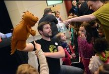 Playtime at The Palace / Looking for a fun and engaging outing for your kids? Come to Playtime at The Palace featuring puppets, bubbles, story pirates, silent movie slapstick and more! Join us on Sundays at 3 -- or for any of our Family Series shows this winter -- as our entertainers delight your children with up-close-and-personal performances!
