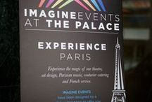 IMAGINE Events on The Palace Theatre Stage / IMAGINE Events have been designed by a collaborative team of local event experts to offer you uniquely packaged events on our larger-than-Broadway stage at The Palace Theatre