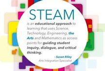 """From """"STEM"""" to """"STEAM"""" to Include """"The Arts"""" / People are talking about changing the current national emphasis on education from STEM to STEAM to include """"The Arts!"""" And, here is a brief list of valuable life skills young people learn from studying the arts: 1) Creativity: 2) Confidence  3) Problem Solving 4) Perseverance 5) Focus 6) Non-Verbal Communication 7) Receiving Constructive Feedback 8) Collaboration 9) Dedication and 10) Accountability"""