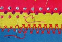 embroidery, basic stitches