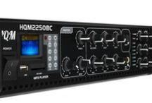 Wzmacniacze HQM / Nowoczesne wzmacniacze sygnałowe High Quality Music zapewniają bezpieczną i w pełni komfortową pracę całości podłączonych urządzeń danego systemu nagłośnień. Innowacyjne technologie, estetyka wykonania oraz praktyczne funkcje kontrolno-zarządzające. Zobacz pełną ofertę wzmacniaczy audio HQM na stronie producenta http://hqm.pl/k-wzmacniacze