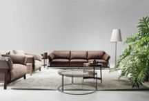 """New sofa collection 2015 / Ecléctico, Monolith and Kanaha are the new sofas collection from Ditre Italia. Made of high-quality materials and crafted in trend-setting shapes, the new collection, called """"Designwear,"""" represents a new design philosophy for DiTre Italia. / by Ditre Italia"""
