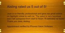 Reviews / Some of our lovely client's feedback