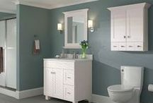 A Beautiful Bathroom / One of the smallest rooms in the home, the bathroom lots of potential! No matter if you are considering a new sink, bathtub, shower stall or vanity, we'll help you make your bathroom beautiful.