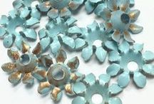 Uncovering the Famous Bead Hoard / Vintage beads and findings from A Grain of Sand