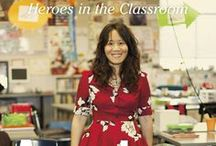 Teacher Resources / Reading lists, music lists, tips and tools for the classroom / by American Teacher: Heroes in the Classroom