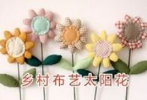 Flores  / Ideas para hacer flores