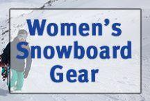▲Women's Snowboard Gear▲ / Women's snowboards, boots, jackets, snowpants, helmets, etc.