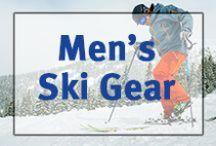 ▲Men's Ski Gear▲ / Men's skis, boots, jackets, snowpants, helmets, poles, googles, etc.