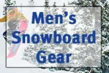 ▲Men's Snowboard Gear▲ / Men's snowboards, boots, jackets, snowpants, goggles, helmets, and other gear.