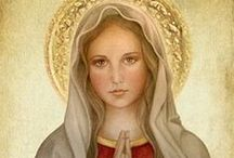 Meet Our Mother: Mary / We look to the Blessed Virgin Mary, Queen of Apostles, as our Patroness. She led the life common to all here on earth, one filled with family concerns and labors, and yet was always intimately united with her Son. She is our Mother. She can be yours, too.