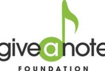 Give a Note Foundation / Give a Note Foundation was created in 2011 by the leaders of the National Association for Music Education.  Give a Note is a separate 501(c)(3) organization that remains affiliated with the association.  The foundation was established to support and strengthen music education programs to ensure that all children have access to the life-changing benefits of music study.