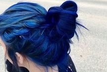 Hair everywhere / Crazy hair colours and gorgeous hairstyles! / by Ana Emily