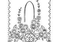 рисунки для вышивки цветов