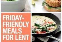 Grace Before Meals / Food is essential not only to human life, but also to our faith. Here, we share some ideas for family meals, community get togethers or even food on the go!