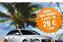 Locations de voitures / Location de voiture pas chère en France et à l'étranger.