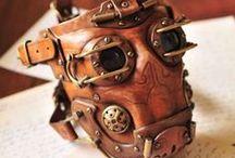 Leather / Przepiękne elementy wykonane ze skóry.