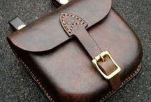 Leather Bag (step by step) / Fazy tworzenia skórzanej torebki.