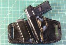 Leather Holster (Step by step) / Tworzenie skórzanej kabury do osobistej broni ręcznej.