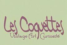 LES COQUETTES / Art, Vintage, Curiosity