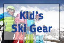 ▲Kid's Ski Gear▲ / Kid's skis, boots, poles, jackets, snowpants, helmets, etc.