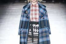 Plaid / Time-honoured checks re-emerge on the catwalks for FALL'16 in medium to oversize scales.  Tablecloth checks, heritage blanket plaids and brushed and milled shadow checks lend a polished, timeless aesthetic. Simple, graphic renditions have an elevated, urban undertone.