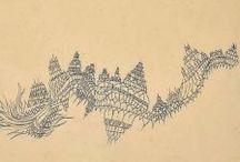 """""""Prendete una linea... / ... e portatela a fare una passeggiata"""". Paul Klee"""