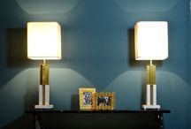Vintage Collection / Exclusive lamps in marble and brass with a vintage flavour